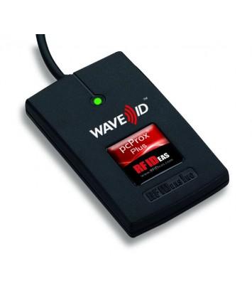 RDR-30081AKU pcProx Plus® BLE Desktop Keystroking Reader USB w/iCLASS ID & Seos with Bluetooth® low energy technology