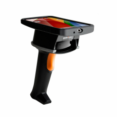Saveo Scan Wireless BT, OTG, 2D Barcode Scanner (2D Motorla Engine SE4500) + Universal Holder _ USB Cable + Charging Cradle