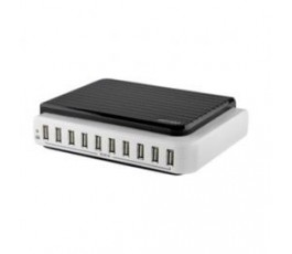 Saveo Scan 10 Port Mains Powered USB Charging Station