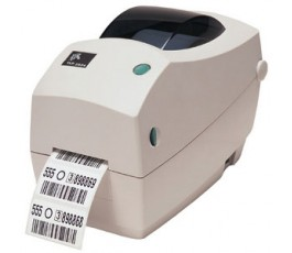 Zebra TLP2824 Plus Thermal transfer desktop printer for printing labels up to 56mm wide - Thermal Transfer, Parallel (Centronics)