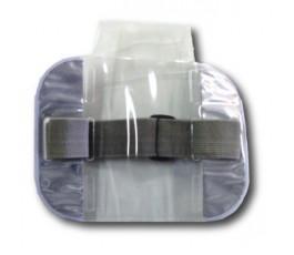 Silver High Visibility Armband