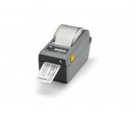 ZD410 Ultra-Compact 2 Inch Direct Thermal Printer - 203dpi, USB
